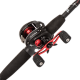 Abu Garcia Black Max Low Profile Baitcasting Rod and Reel Combo